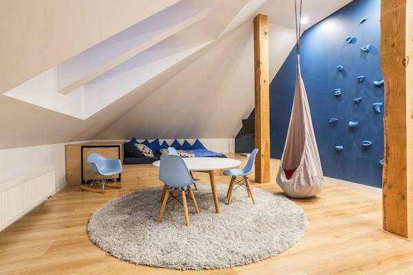 Sky Blue Lofts Kids Playroom Attic Conversion Sky Blue
